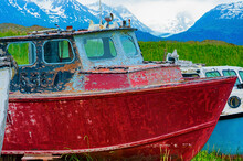 Decaying Abandonded Boats