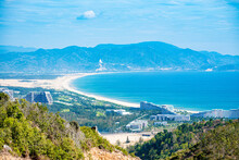 Ky Co Beach, Sand On Beach And Blue Summer Sky, Nature Concept At Quy Nhon City , Binh Dinh Province, Viet Nam