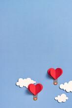 Paper Hot Air Balloon Heart