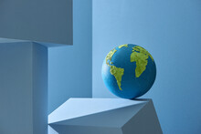 Handmade Plasticine Globe