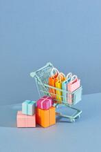 Annual Sale Shopping Season Concept