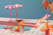Pool Swimming Summer Type Design