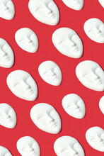 Gypsum Face Masks Pattern.