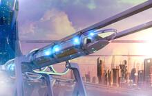 Futuristic Sky Rail