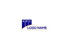 Financial Aec Logo Letter, ADC Logo Letter Vector