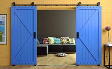 Exclusive Barn Sliding Loft Door In Room