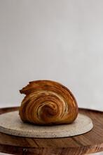 Butter Croissant Close Up