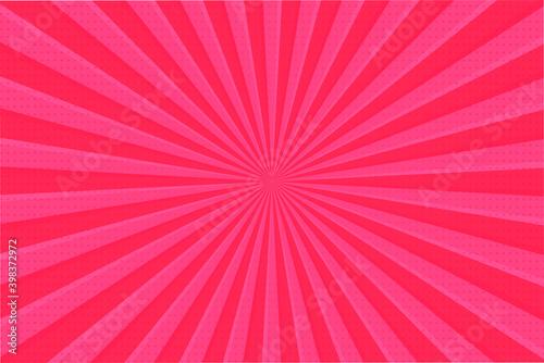Fotografie, Obraz Pink ray background