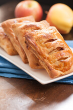 Golden Brown Apple Turnovers