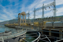 Hydroelectric Dam And Plant