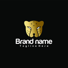 Simple And Elegant  Cheetah Head Logo That Fits Your Business And Uses The Latest Adobe Illustrations.