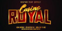 Casino Royal Editable Text Effect