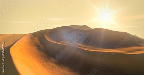 Fotografie, Obraz Beautiful sand dunes