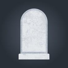 Empty Grave Stone Copyspace