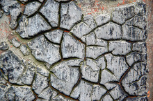 Cracked Earth Background Texture. Abstract Texture For Background