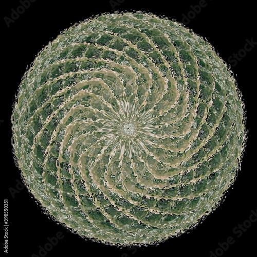 abstrakcja melon fale rozmycie woda zieleń