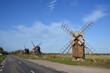 Windmühlen auf der Insel Öland in Schweden