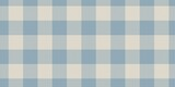 blue and beige pale colors fabric texture of traditional checkered gingham repeatable ornament for plaid, tartan, tablecloths, shirts, clothes, dresses, bedding - 398696301