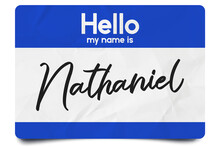 Hello My Name Is Nathaniel