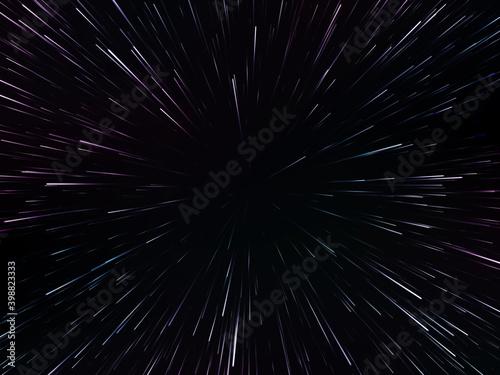 Fototapeta Space speed