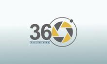 360 Degrees Consulting And Media Vector Logo,360 Vector Logo Design Template Idea And Inspiration.
