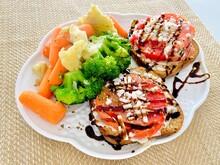 Tomatoes On Toast Vegan Broccoli