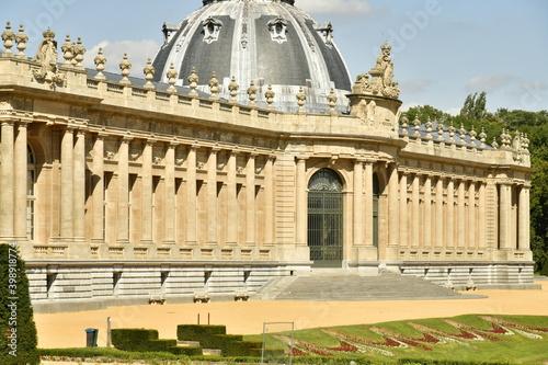 Fotografering L'imposant Musée National de l'Afrique Centrale avec sa rotonde et ses colonnade
