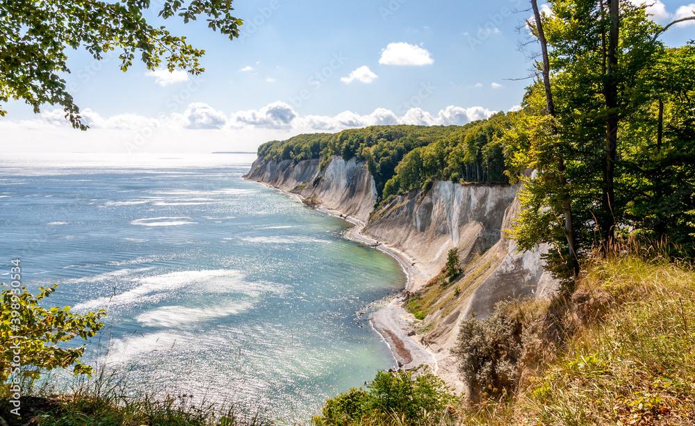 Fototapeta Rügen Kreideküste
