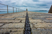 Harbor And Skyline Of Saint Peter Port, Guernsey, Channel Islands, UK