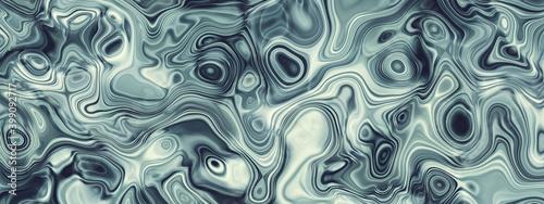 Obraz Abstract wavy fluid pattern banner background - fototapety do salonu