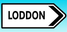 Loddon Road Sign