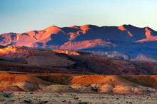 Alpine Landscape Of Atlas Mountains, South Morocco, Africa