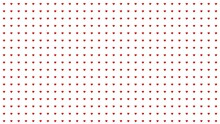 Pattern Of Small Red Hearts On A White Background. Graphic Arts.