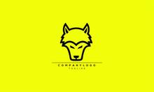 WOLF Abstract Initial Monogram Letter Alphabet Logo Design