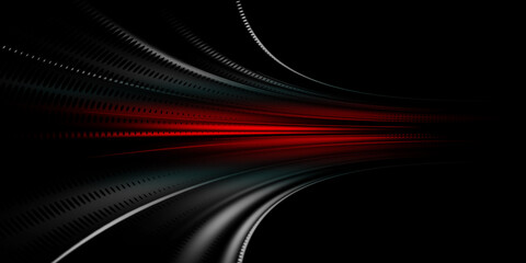 Gray and red speed abstract technology background