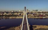 Fototapeta Londyn - Bridge Świętokrzyski Warsaw