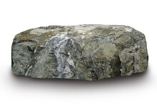 Stones White Background, Clipping Path