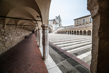 City Of Assisi, Umbria, Italy