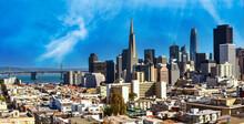 Skyline Panorama San Francisco USA