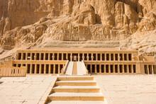 Ancient Ruins Of Karnak In Luxor