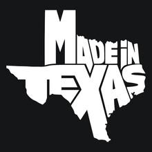 Made In Texas Design - Vector File