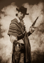 Wild West Cowboy. The Character