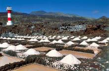 Sea Salt Production In Fuencaliente At La Palma