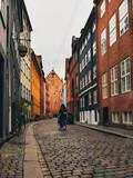 Magstræde gade in Copenhagen streets