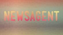 Newsagent Fade Strange Tessellation Looping Animated Triangles