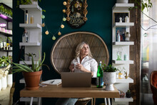 Portrait Of Hairdresser Owner In Startup Salon