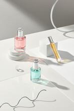 Set Of Luxury Perfume Bottles