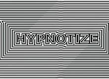 Hypnotize Ops Art Text Effect