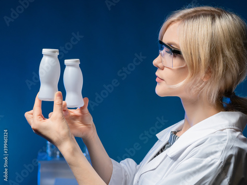Fototapeta The benefits of probiotics