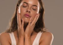 Woman Beauty Skin Moisture Spa Face Natural Clean Fresh Make Up Close Up